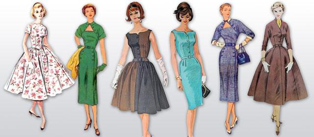 Выкройка юбки 60 года
